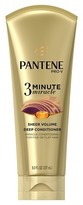 Pantene 3 Minute Miracle Sheer Volume Deep Conditioner - 8 oz