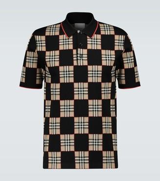 Burberry Blakeford short-sleeved polo shirt