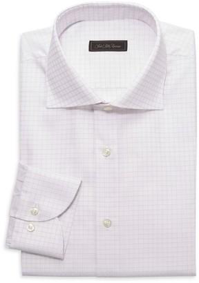 Saks Fifth Avenue COLLECTION Windowpane Dress Shirt