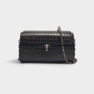 THE VOLON Po Trunk Bag With Chain Strap