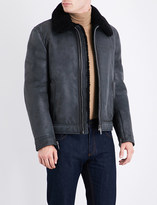 Salvatore Ferragamo Shearling leather jacket