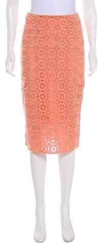 Dolce & Gabbana Guipure Lace Pencil Skirt
