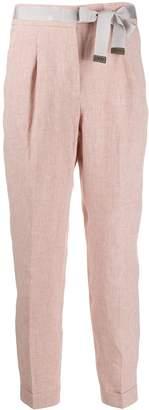 Peserico tailored slim trousers