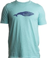 Tonn Whale Tee In Turquoise