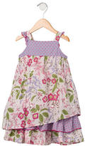 Kenzo Girls' Floral Print Sleeveless Dress