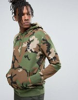 Huf Hoodie In Camo