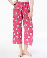 Hue Printed Capri Pajama Pants