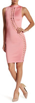 Wow Couture Woven Braided Bodycon Dress