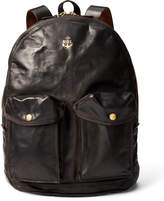 Ralph Lauren Leather Mitchell Backpack