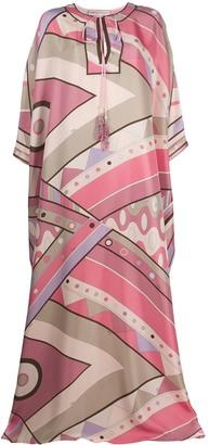 Emilio Pucci Vivara print kaftan dress