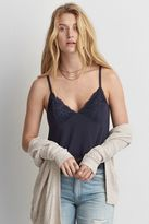 American Eagle Outfitters AE Soft & Sexy Lace Trim Cami