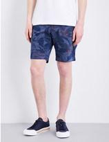Tommy Hilfiger Brooklyn flower-pattern classic-fit cotton shorts
