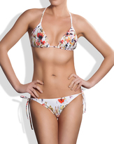 Meli Beach Swimwear - Classic Triangle Bikini Top Poppy