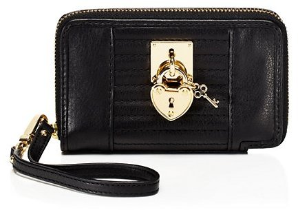 Juicy Couture Robertson Leather Tech Wristlet