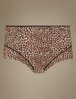 Marks and Spencer 2 Pair Pack Light Control No VPL Animal Print Full Briefs