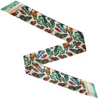 Emily Carter The Tropical Butterfly Twilly Scarf