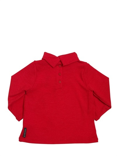 Armani Junior Printed Sequins Jersey T-Shirt