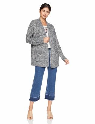 Lucky Brand Women's Venice Marl Cardigan Sweater