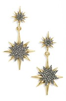 Vince Camuto Women's Crystal Double Drop Earrings