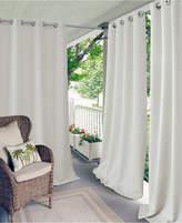 """Elrene Connor 52"""" x 95"""" Indoor/Outdoor Grommet Panel, Water-Repellent and 50+ UV Protection"""