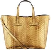 Tom Ford Small Python T Tote Bag