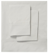 Melange Home Double Pleat Solid Cotton Sheet Set