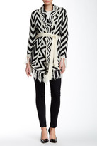 Insight Wool Blend Fringe Trim Sweater