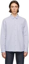 A.P.C. Blue Seersucker 92 Shirt