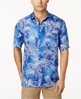 Tasso Elba Men's Silk & Linen Tropical Foliage Shirt, Only at Macy's