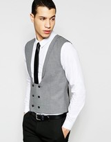 Selected Homme Skinny Morning Wedding Waistcoat With Stretch
