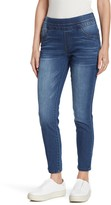 Democracy Ab-Tech Glider Pull-On Skinny Jeans (Petite)