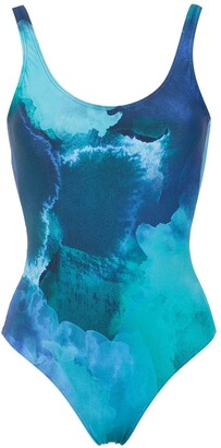Lygia & Nanny printed Teresa swimsuit