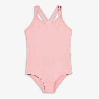 Joe Fresh Toddler Girls' Active Bodysuit, JF Black (Size 5)