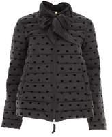 Twin-Set Women's Black Polyester Down Jacket.