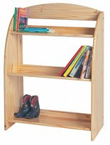 Little Colorado Children Kids Bookcase Storage Organizer Natural Lacquer