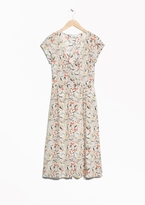 Other Stories Floral Print Dress