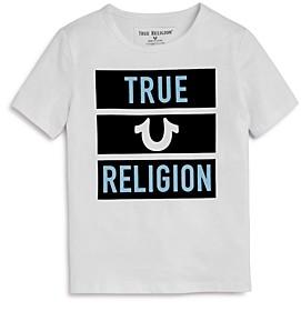 True Religion Boys' Cotton Block Tee - Little Kid, Big Kid