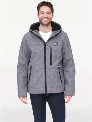Tommy Hilfiger Essential Sherpa Hooded Shell Jacket