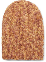 Etro Ribbed Mélange Wool Beanie