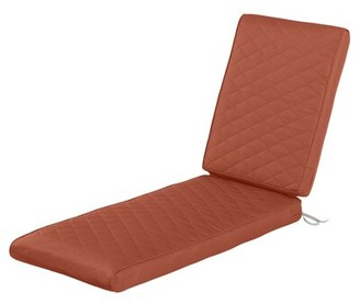 """Freeport Park SearcyA FadeSafeA Outdoor Chaise Lounge Cushion Fabric: Spice, Size: 3"""" H x 26"""" W x 80"""" D"""