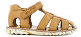 Pom D'Api Papy Waff Velcro Leather Sandals