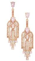 Adia Kibur Women's Crystal Drop Earrings