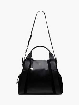 Radley Baylis Road Smooth Leather Medium Multiway Grab Bag, Black