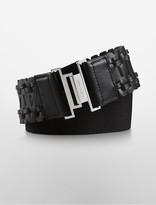 Calvin Klein Laced Wide Waist Belt