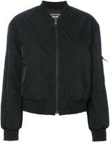 Moschino zipped bomber jacket