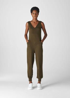 Washed Linen Jumpsuit