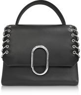3.1 Phillip Lim Black Alix Mini Top Handle Satchel Bag