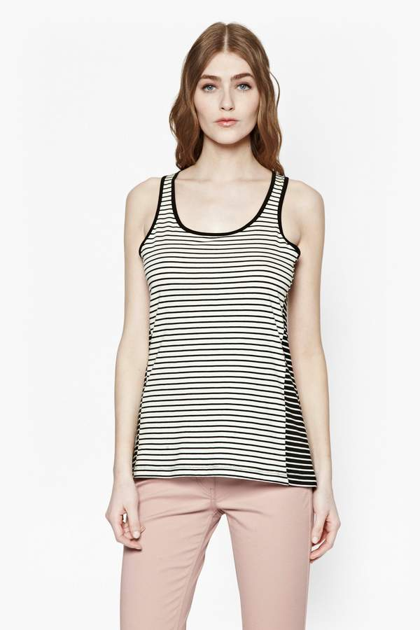 0ee891ab0 Plain Black Vest Top - ShopStyle Canada