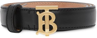 Burberry TB monogram belt