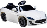 Ride on Cars Kids' Maserati Gran Cabrio, White